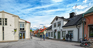 Sigtuna - the oldest town in Sweden Stock Images