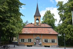 Sigtuna Radhus /Town Hall image stock