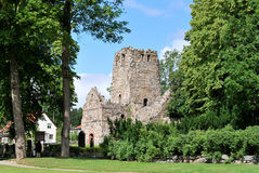 Sigtuna. Ruins of St.Olof Church Royalty Free Stock Image