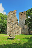 Sigtuna, Sweden. St Peter's church Stock Photos