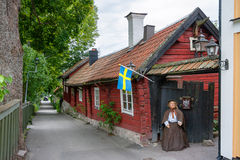 Sigtuna town. Sweden Stock Photos