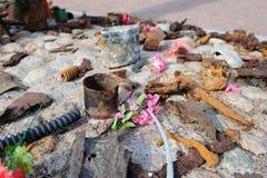 Sigue habiendo la guerra oxidada Fotos de archivo libres de regalías