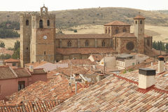 Siguenza Cathedral Stock Photo