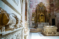 Siguenza katedra, Hiszpania Zdjęcie Stock