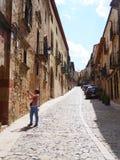 Siguenza, Spagna Fotografia Stock Libera da Diritti