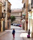 Siguenza, Spanien Stockbild
