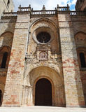 Siguenzakathedraal, Spanje Royalty-vrije Stock Afbeelding