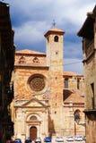 Siguenzakathedraal, Spanje Stock Afbeelding