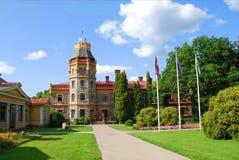 Sigulda城堡,拉脱维亚 免版税库存图片