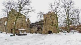 Sigulda Castle stock video