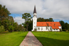 Sigulda Church, Latvia Stock Photography