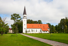 Sigulda Kirche Stockfotografie
