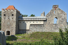 Sigulda Medieval Castle Stock Photography