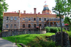Sigulda old castle Stock Photo