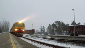 Sigulda Station stock video footage