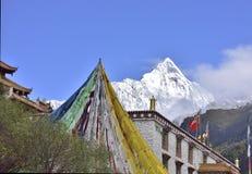 Siguniang mountain(Four girls mountain) Royalty Free Stock Photos