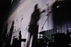 Sigur Ros band performs at Barcelona Royalty Free Stock Images