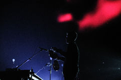 Sigur Ros band performs at Barcelona Stock Image