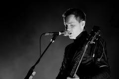 Sigur Ros,  Icelandic post-rock band from Reykjavik, performs at Sant Jordi Club Stock Photography