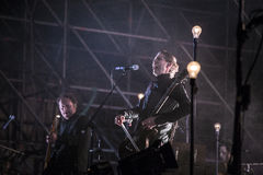 Sigur Ros live Royalty Free Stock Images