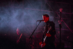 Sigur Ros live Royalty Free Stock Image