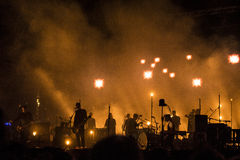 Sigur Ros live Stock Photo