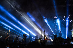 Sigur Ros live Royalty Free Stock Photo