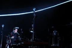 Sigur Ros performs at Sant Jordi Club Stock Photography