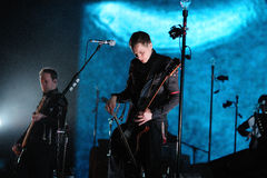 Sigur Ros performs at Sant Jordi Club Stock Images