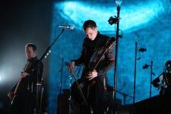 Sigur Ros performs at Sant Jordi Club Stock Images