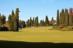 Sigurta' Park. One of the best italian parks near Garda Lake, northen Italy. Sigurtà park and garden: an ecological oasis located at the foot of the morainal stock images