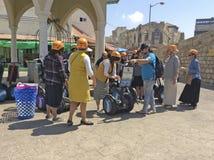 Sigway путешествует в старом Yaffo (Яффе, Yafo), Израиле Стоковая Фотография