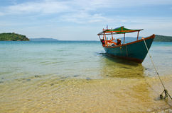 Sihanouk Ville beach Royalty Free Stock Photo
