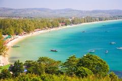 SIHANOUK VILLE Province le royaume du Cambodge de plage de paradis de la merveille Images libres de droits