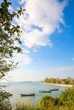 SIHANOUK VILLE Province le royaume du Cambodge de plage de paradis de la merveille Photographie stock