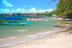 SIHANOUK VILLE prowincja raj plaży Kambodża królestwo cud Zdjęcie Royalty Free