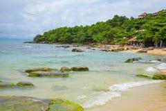 SIHANOUK VILLE prowincja raj plaży Kambodża królestwo cud Fotografia Royalty Free