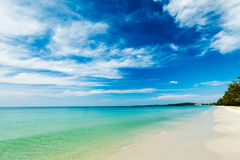 Sihanoukville beach, Cambodia Royalty Free Stock Photo