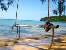 Sihanoukville, Cambodia. Deserted beach in Sihanoukville, Cambodia Stock Photography