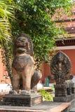 Sihanoukville Cambodia famous Lion Statue Stock Images