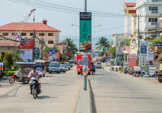 Sihanoukville Downtown Stock Image