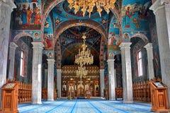 Sihastria kloster Rumänien Arkivbild