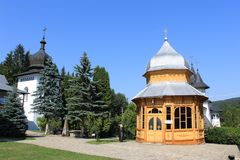 Sihastria monaster Neamt Rumunia Obraz Stock