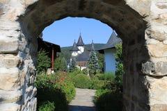 Sihastria monaster w Rumunia obraz stock