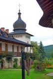 Sihastria monastery in moldavia romania stock photography