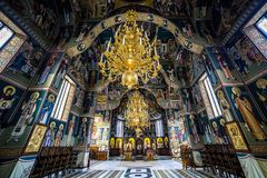 Sihastria Monastery Putnei Royalty Free Stock Photography