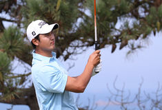 Sihwan Kim at the Pleneuf Val Andre golf Challenge 2013 Royalty Free Stock Image