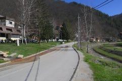 Sijarinska banja, spa, health resort in South Serbia. Sijarinska banja is medical sanatorium with thermal spring Stock Photo
