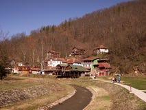 Sijarinjskabanja, kuuroord, kuuroord in Zuid-Servië, Royalty-vrije Stock Foto