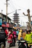 Sijing-Stadt Shanghai Stockfoto